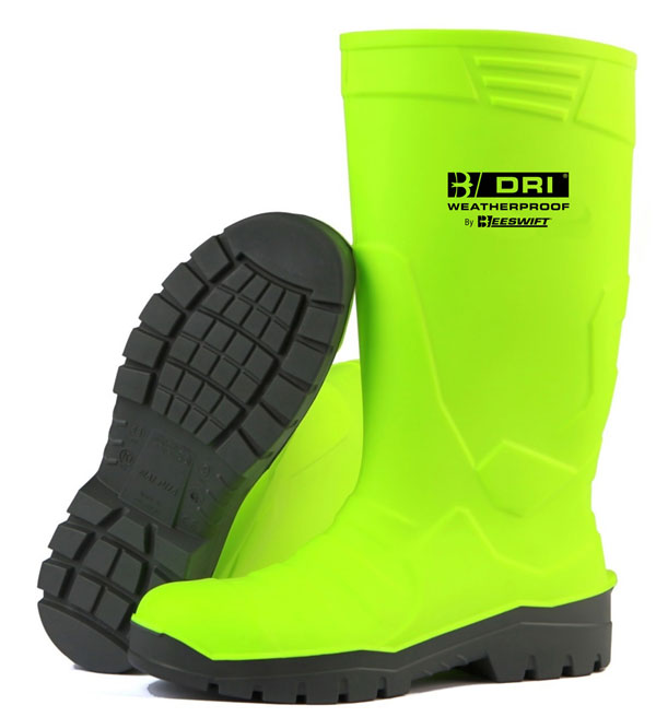 PU SAFETY BOOT S5 HI VIS - BBPUSBSY