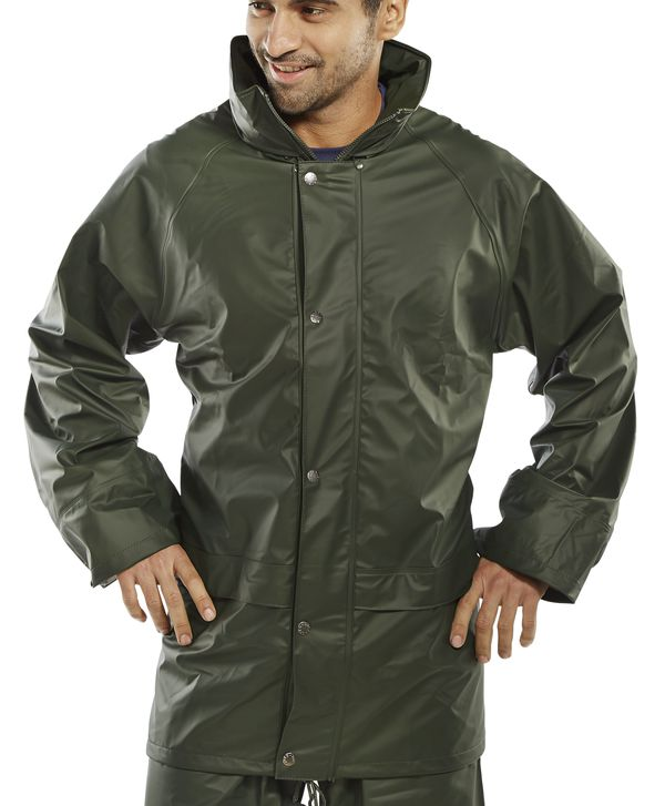 BRECON TRANSFER COATED JACKET - BRECJO