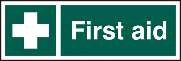 FIRST AID SIGN - BSS12051
