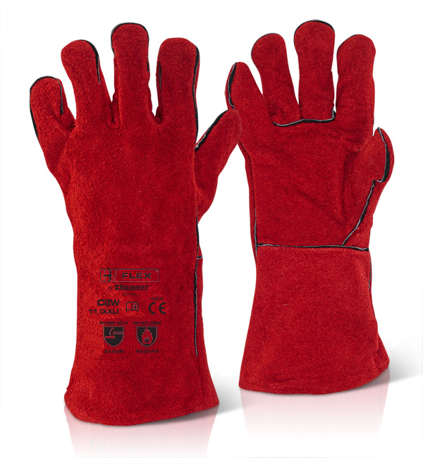 RED WELDERS GAUNTLET - C2W