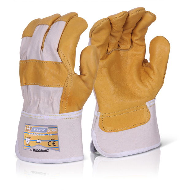 CANADIAN YELLOW HIDE RIGGER GLOVE - CANYHSP