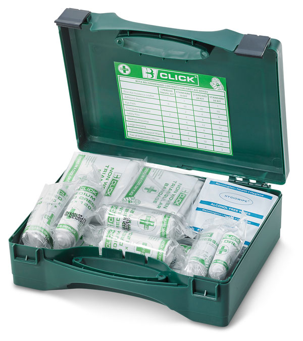 1-10 PERSON HSA IRISH FIRST AID KIT WITH EYEWASH - CM0016