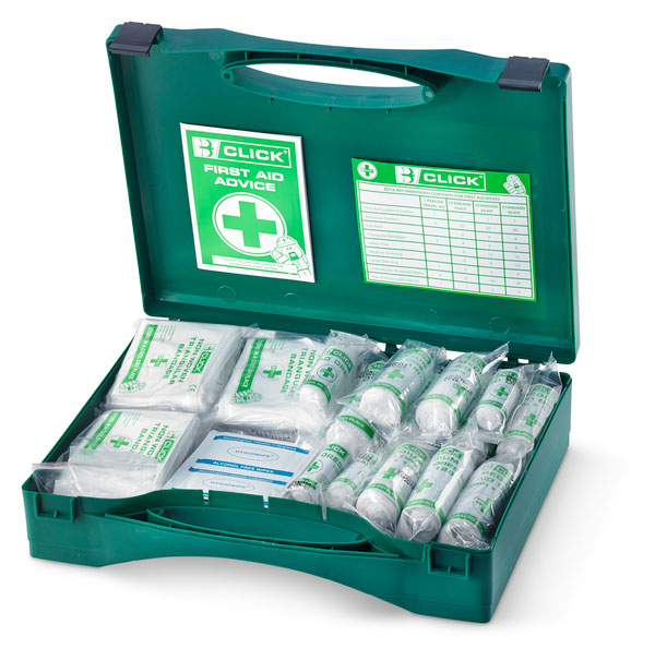 26-50 PERSON HSA IRISH FIRST AID KIT WITH BURN DRESSINGS - CM0055