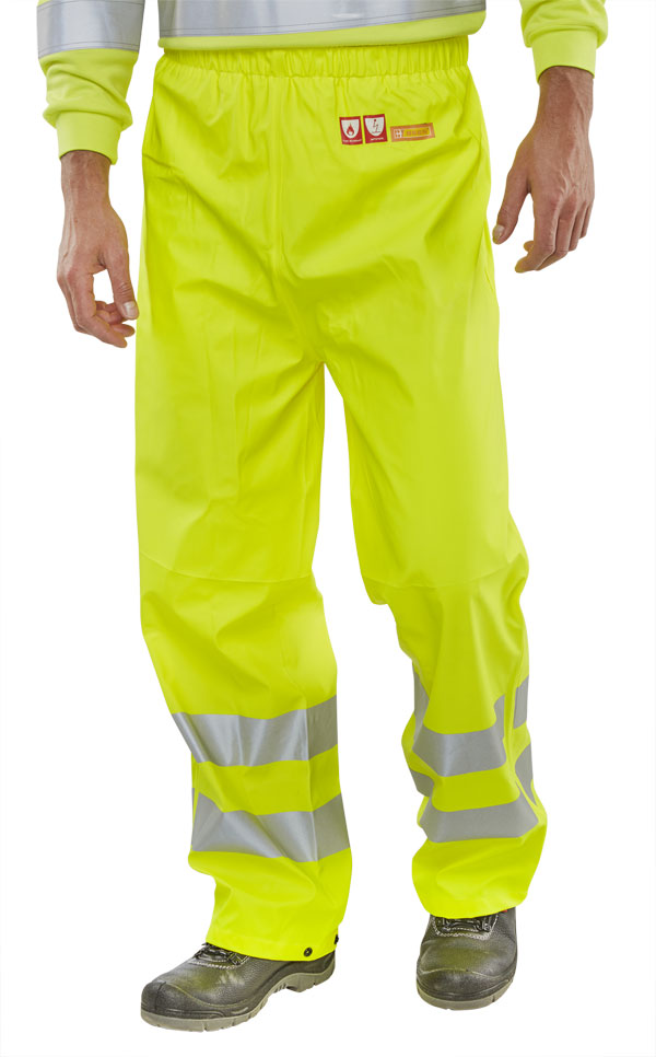 FIRE RETARDANT ANTI-STATIC TROUSERS - CFRLR52SY