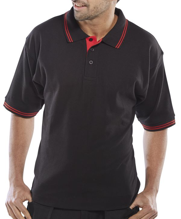 CLICK TWO TONE POLO SHIRT - CLPKSTT