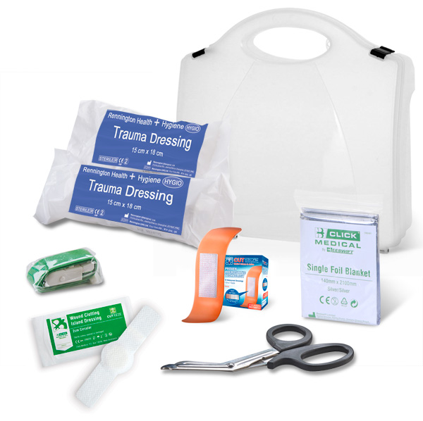 BS8599-1:2019 CRITICAL INJURY PACK LOW RISK IN BOX - CM0080