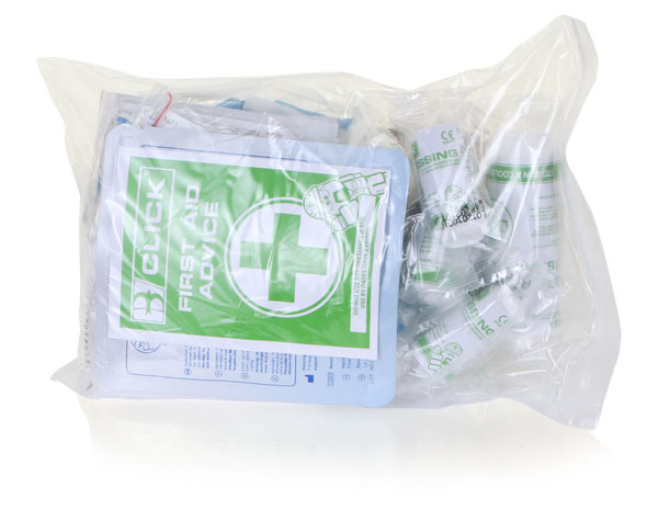 BS8599 SMALL FIRST AID REFILL - CM0105