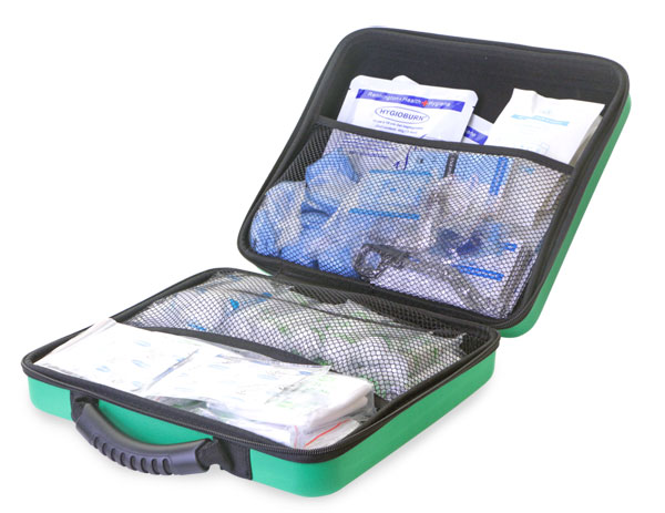 HSE 1-50 PERSON FIRST AID KIT IN LARGE FEVA CASE - CM0264