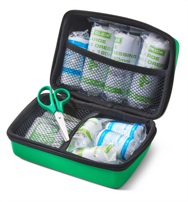 PUBLIC SERVICE VEHICLE (PSV) FIRST AID KIT IN SMALL FEVA CASE - CM0265