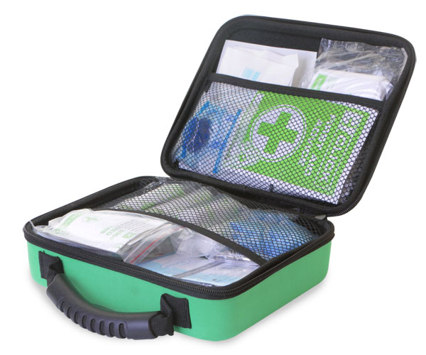 BS8599-1 SMALL FIRST AID KIT IN MEDIUM FEVA CASE - CM0267