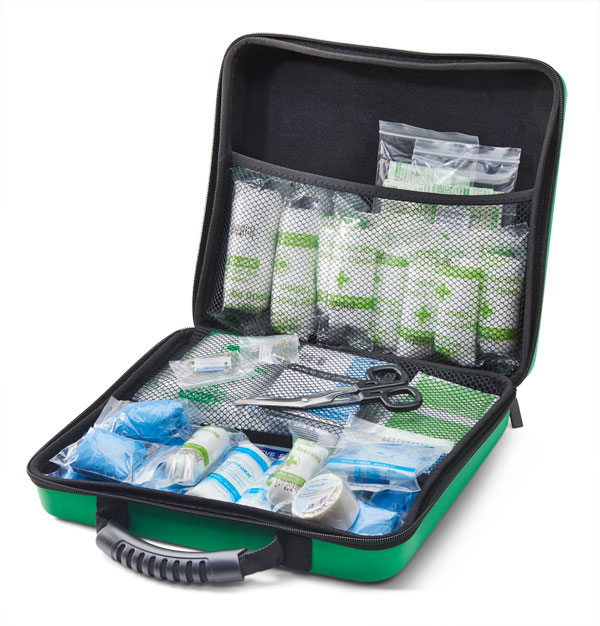 BS8599-1 MEDIUM FIRST AID KIT IN LARGE FEVA CASE - CM0268