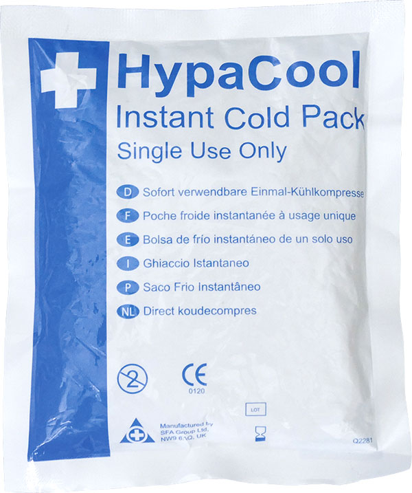 INSTANT ICE PACK 100G SINGLE USE - CM0370