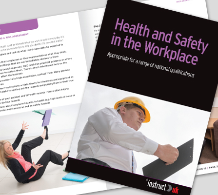 HEALTH AND SAFETY IN THE WORKPLACE BOOK - CM1318