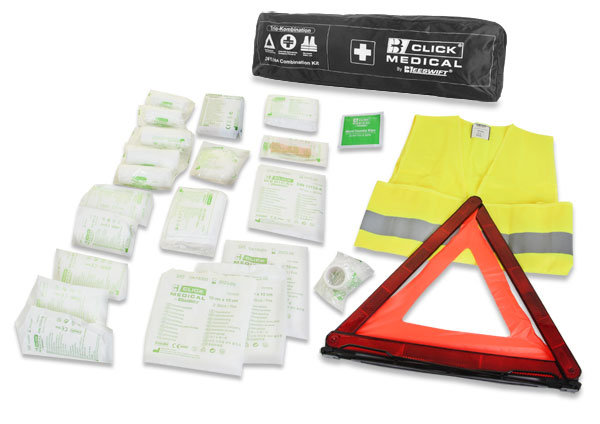 GERMAN COMBINATION VEHICLE FIRST AID KIT DIN 13164 - CM1830
