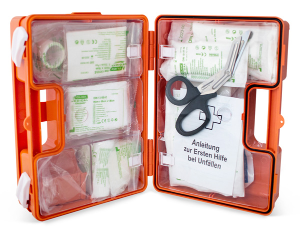 GERMAN WORKPLACE FIRST AID KIT DIN 13157 UP TO 50 EMPLOYEES - CM1831