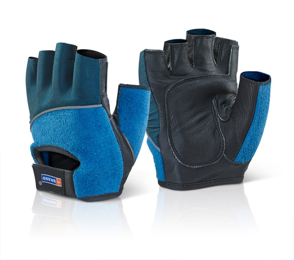 FINGERLESS GEL GLOVES - FGG