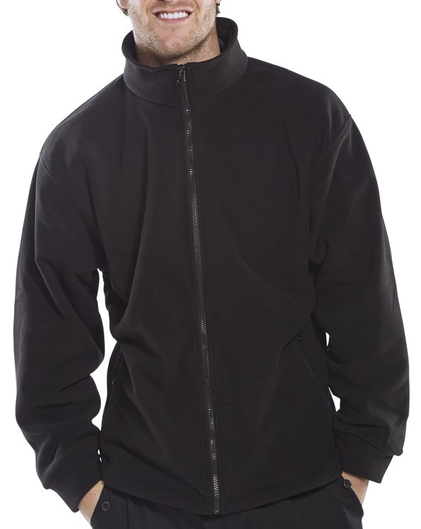 STANDARD FLEECE JACKET - FLJBL