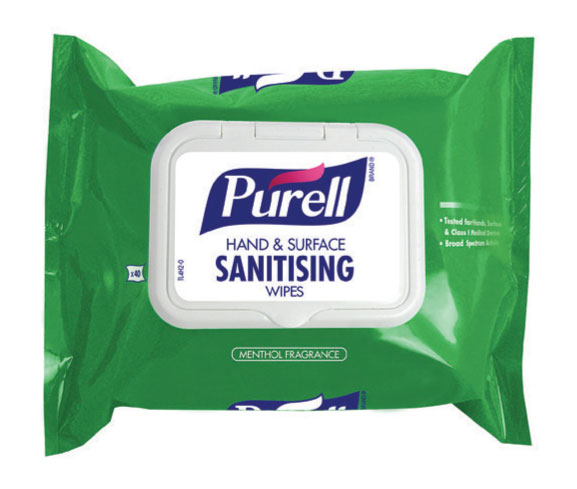 PURELL HAND AND SURFACE SANITISING WIPES (SOFT PACK) - GJ92002-40