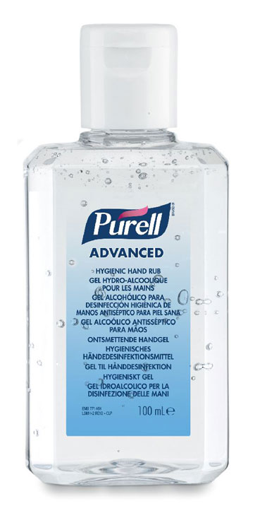 PURELL ADVANCED HAND RUB 24X100ML - GJ9661-24