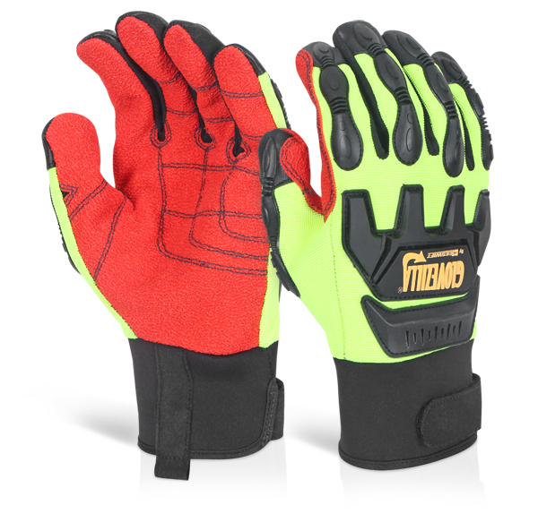 GLOVEZILLA MECHANICAL IMPACT GLOVE - GZ82LG