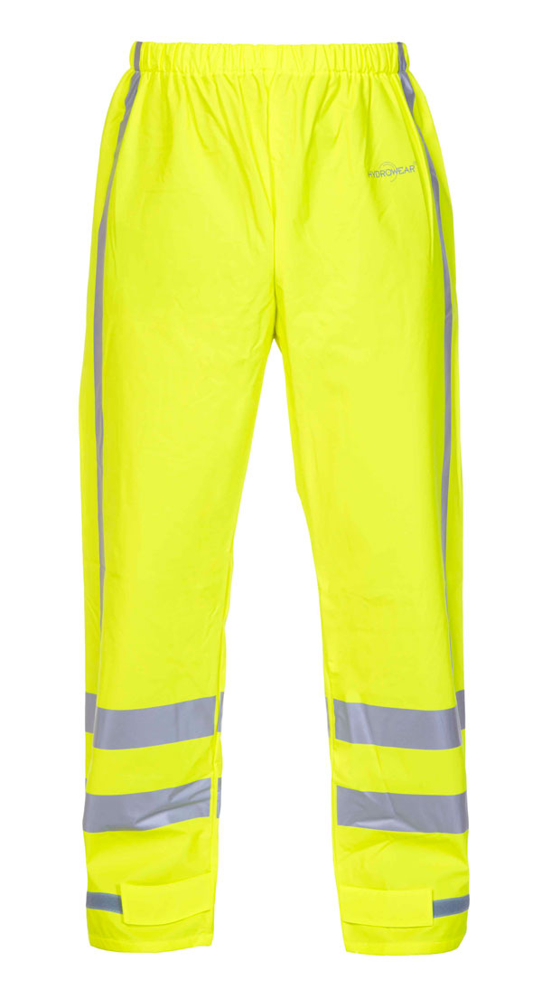 NAGOYA MULTI HYDROSOFT FLAME RETARDANT ANTI-STATIC HIGH VISIBILITY WATERPROOF TROUSERS - HYD064064SY
