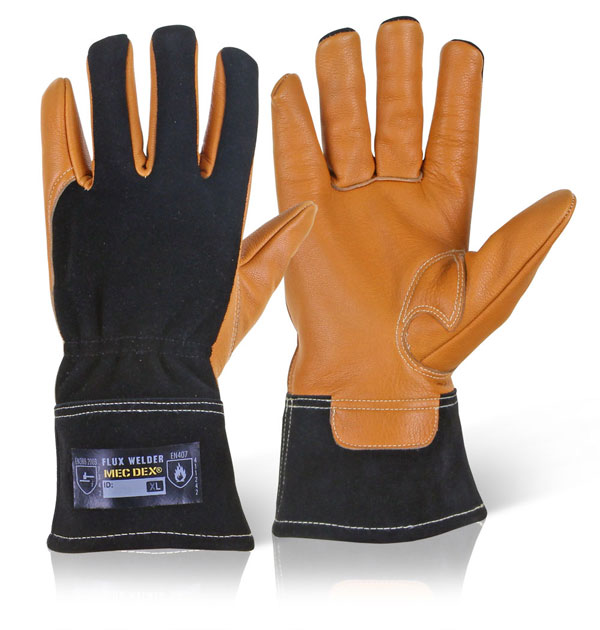 FLUX WELDER MECHANICS GLOVE - MECWD-711