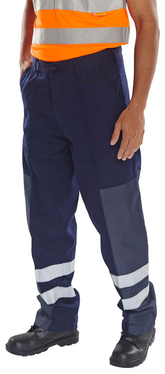 POLY COTTON NYLON PATCH TROUSERS - PCNT27