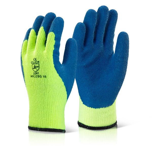 ColdStar Fleece Lined Latex Grip Gloves