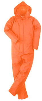 Trans/Coat Coverall Orange L